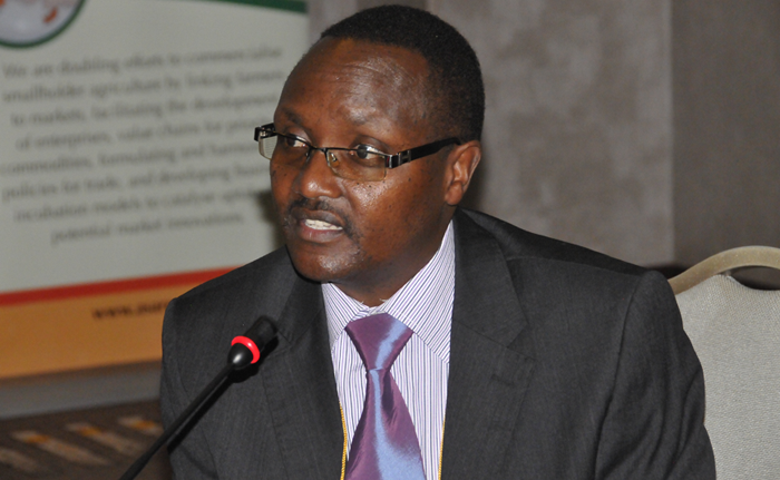 Interim ASARECA Executive Secretary Prof. Francis Wachira