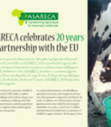 ASARECA celebrates 20 years of partnership with the EU. (Extract)
