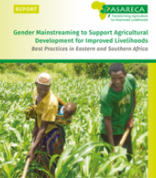 Gender Mainstreaming to Support Agricultural Development for Improved Livelihoods Best Practices in Eastern and Southern Africa
