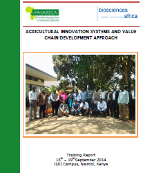 AGRICULTURAL INNOVATION SYSTEMS AND VALUE CHAIN DEVELOPMENT APPROACH