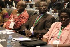 1st ASARECA General Assembly at the Media center in Kampala