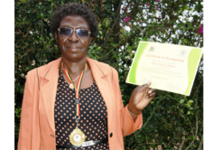 ASARECA Executive Director receives prestigious food security award